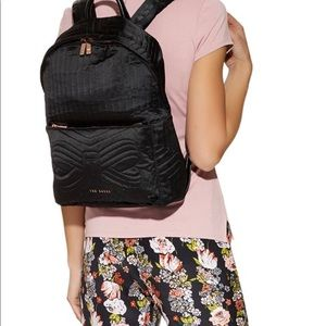 42ce57ef084b61 Ted Baker London Bags - Ted Baker Alina Quilted Nylon Backpack 🎒